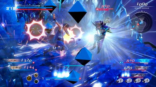 Cena de Dissidia Final Fantasy para arcade