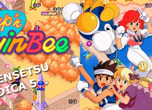 #DensetsuIndica sobre Pop'n TwinBee