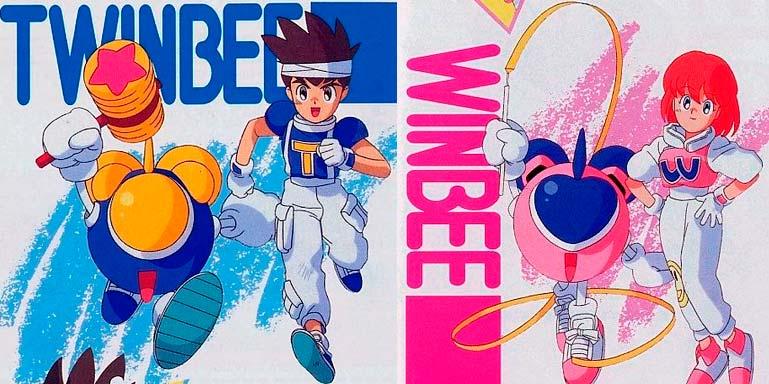 Light & TwinBee, Pastel & WinBee, do jogo Pop'n TwinBee