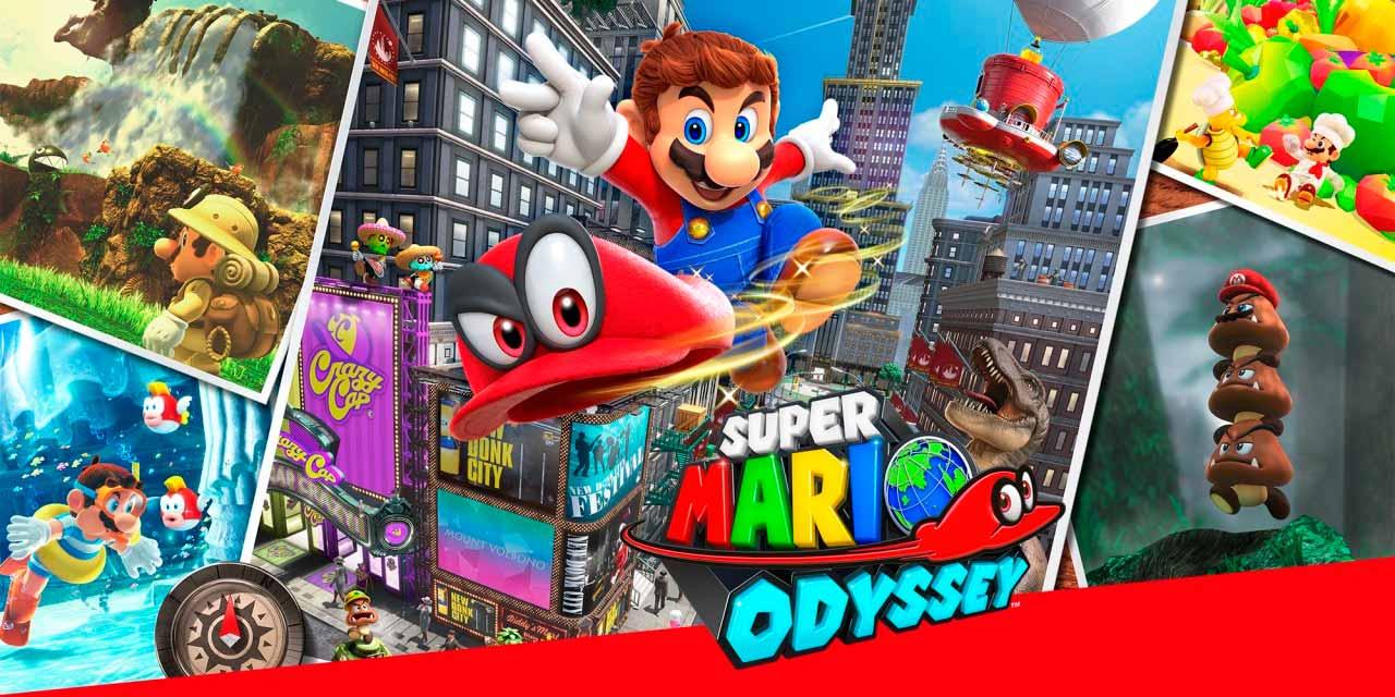 Imagem do jogo Super Mario Odyssey