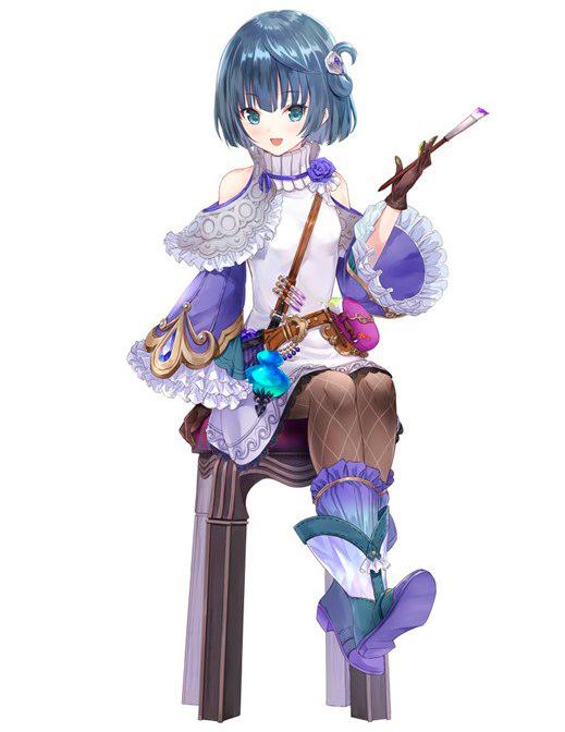 Neige, nova personagem de Atelier Lydie & Suelle