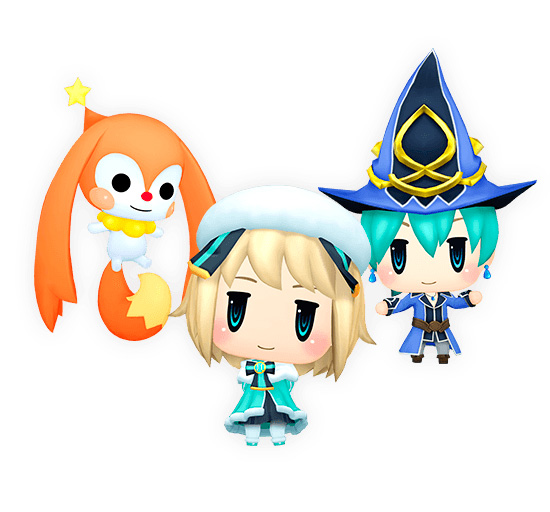 Gangue Whitey de World of Final Fantasy: Meli-Melo