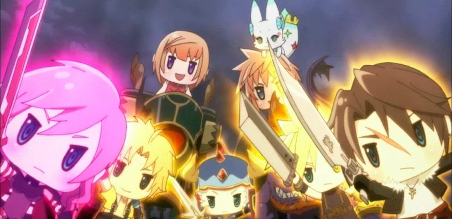 World of Final Fantasy: Meli-Melo para celulares