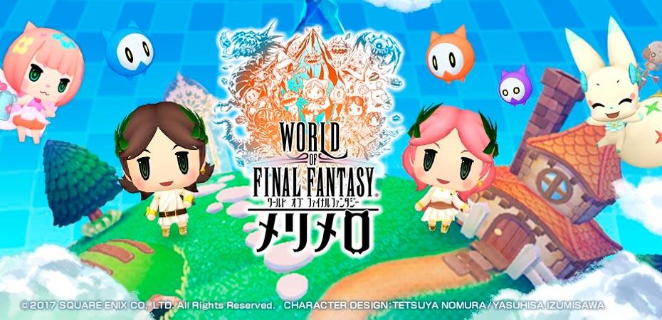 Primeiros detalhes de <i>World of Final Fantasy: Meli-Melo</i> são revelados