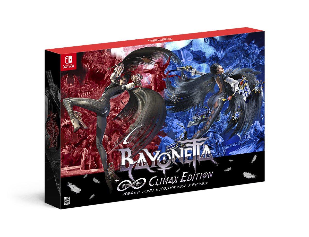 Edição exclusiva para o japão de Bayonetta 1 & 2 anunciada na The Game Awards 2017