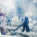 Imagem da abertura de Dissidia Final Fantasy NT