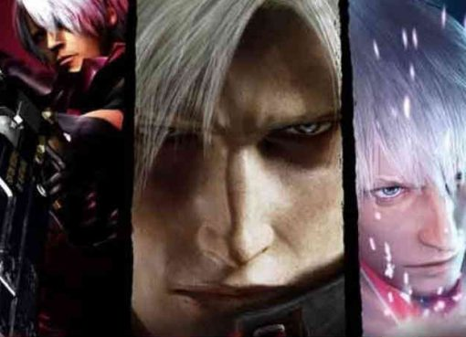 Arte da capa de Devil May Cry HD Collection