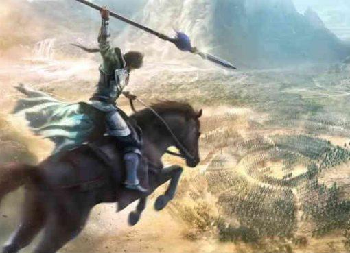 Arte retirada do trailer de Dynasty Warriors 9