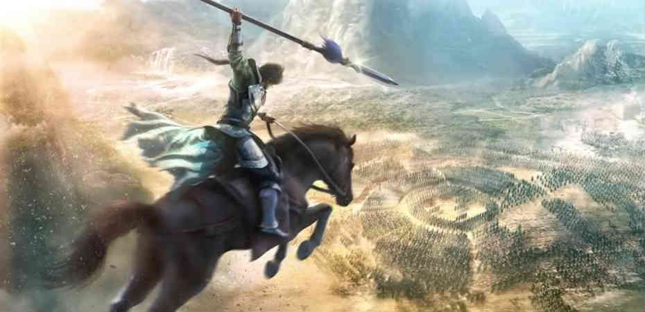 Arte retirada do trailer de Dynasty Warriors 9