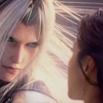 Imagem do trailer da montanha-russa de Final Fantasy