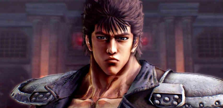 Imagem do protagonista Kenshiro de Hokuto no Ken