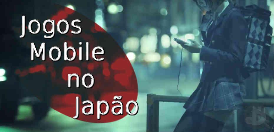 Jogos mobile no Japão