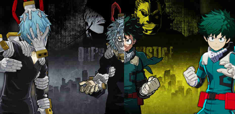 Personagens de My Hero Academia: One's Justice