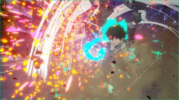 Captura de tela de My Hero Academia: One's Justice