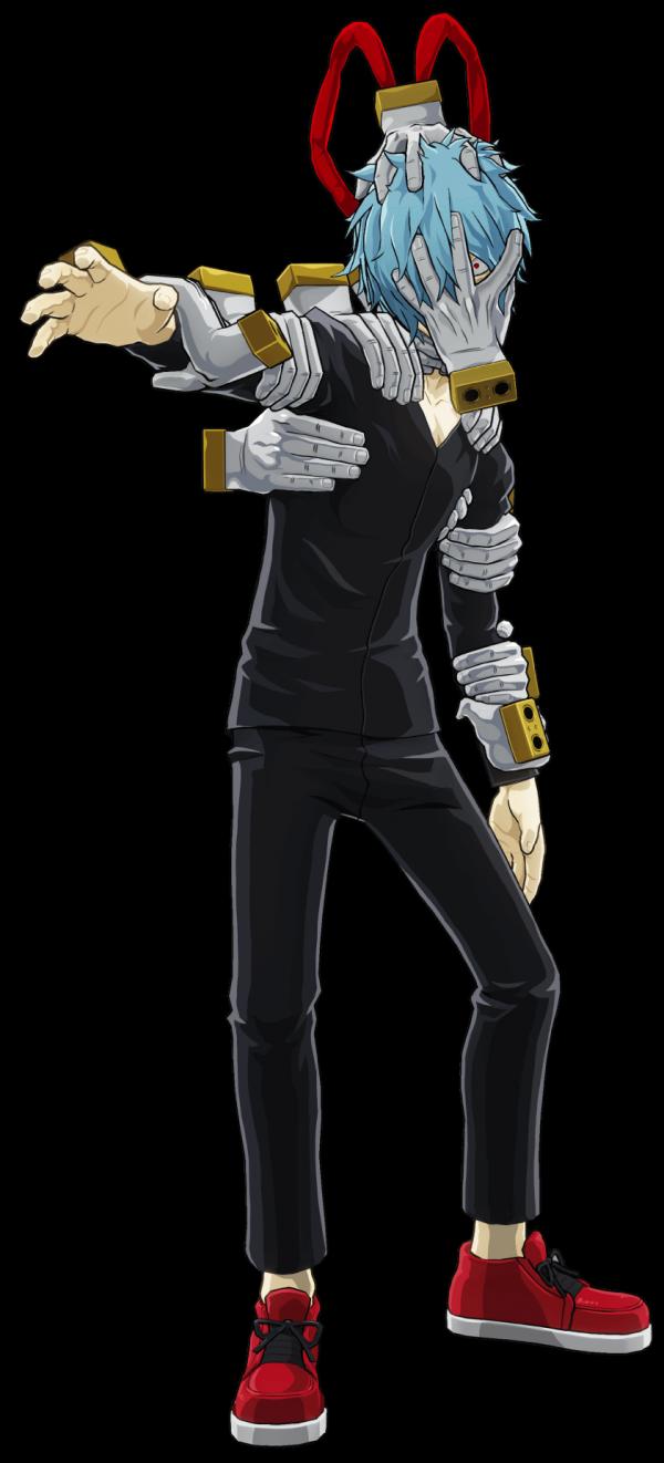 Arte do personagem Tomura Shigaraki de My Hero Academia: One's Justice