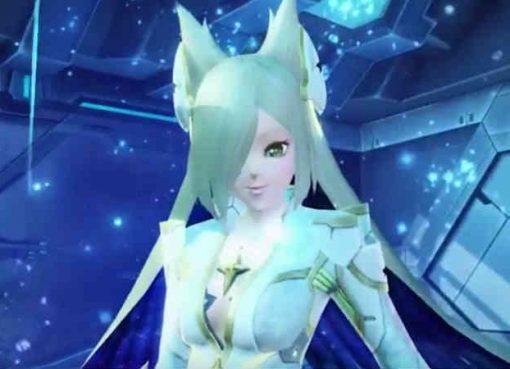 Imagem de personagem em Phantasy Star Online 2