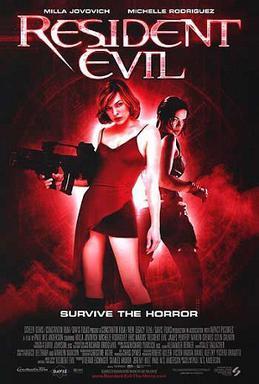 Cartaz do filme Resident Evil