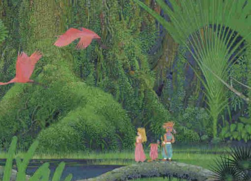 Arte de capa de Secret of Mana