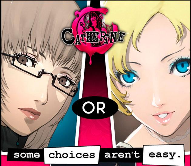 Katherine e Catherine do jogo Catherine