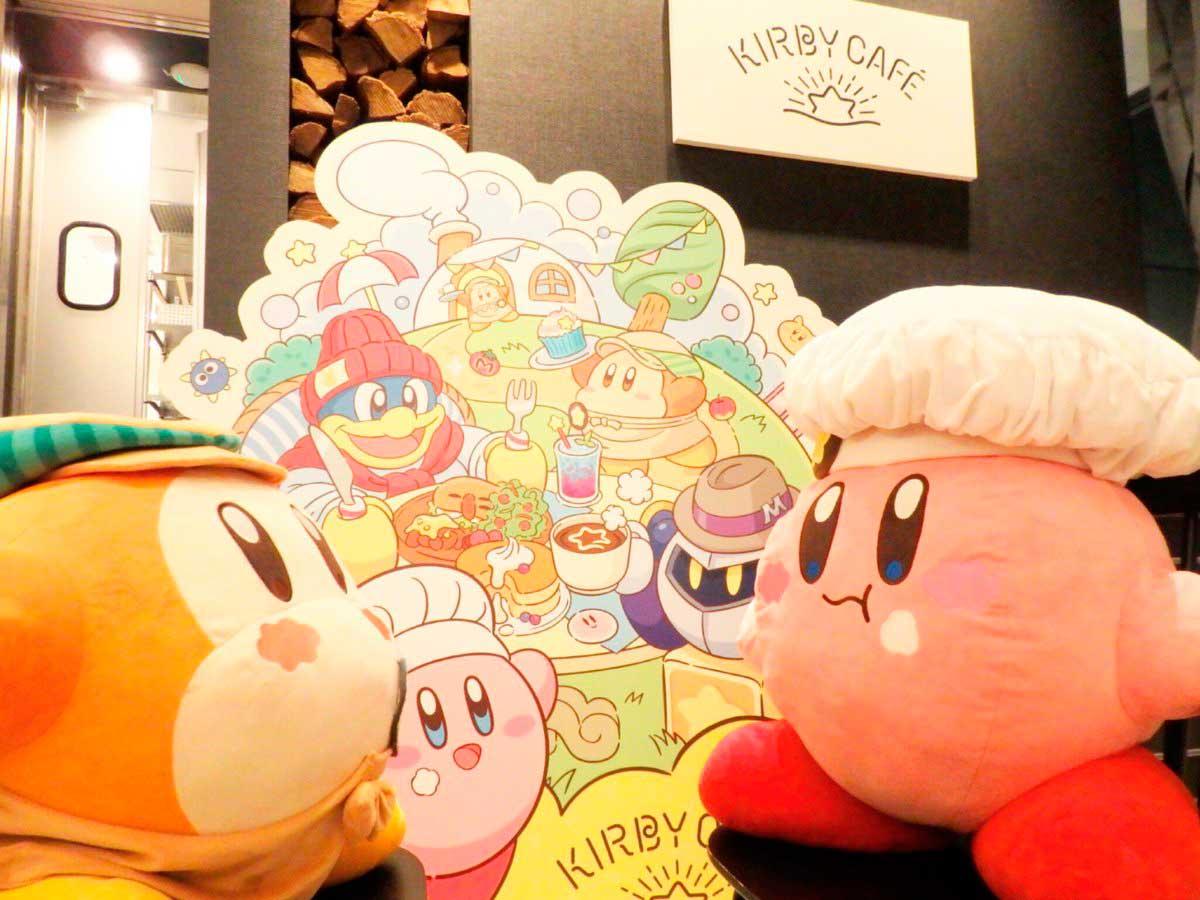 Decoração do Kirby Cafe