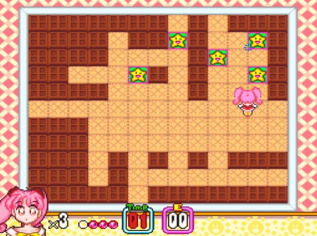 Fase bônus em Panic in Nakayoshi World para Super Nintendo