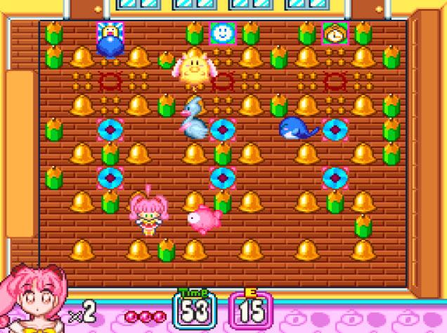 Inimigos de em Panic in Nakayoshi World para Super Nintendo