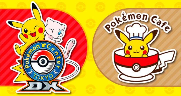 Logo do café temático de Pokémon