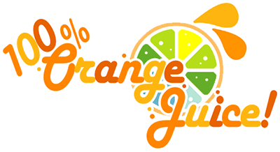 Logotipo de 100% Orange Juice