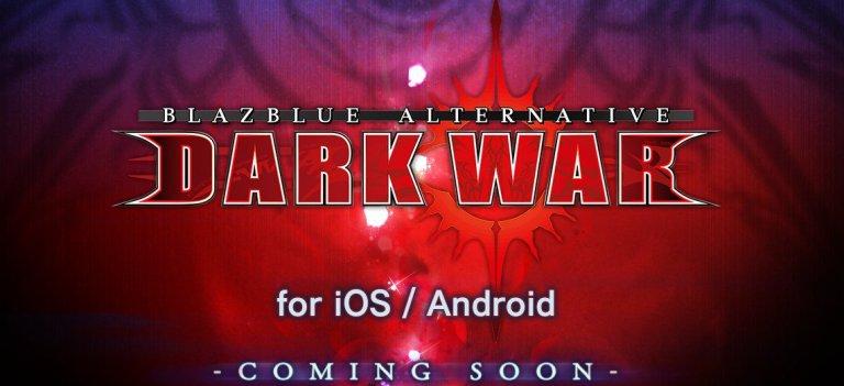 <i>BlazBlue Alternative: Dark War</i> é anunciado para celulares