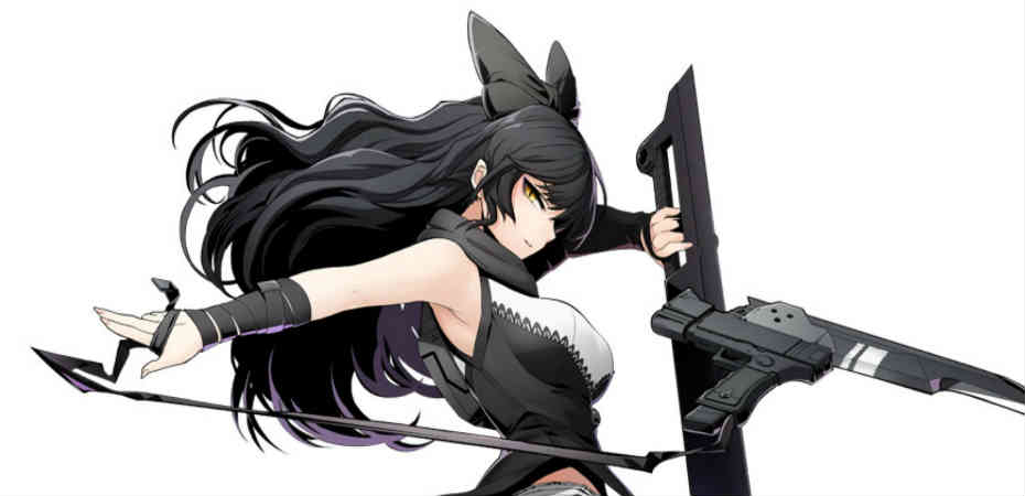Blake Belladonna, personagem DLC de BlazBlue Cross Tag Battle