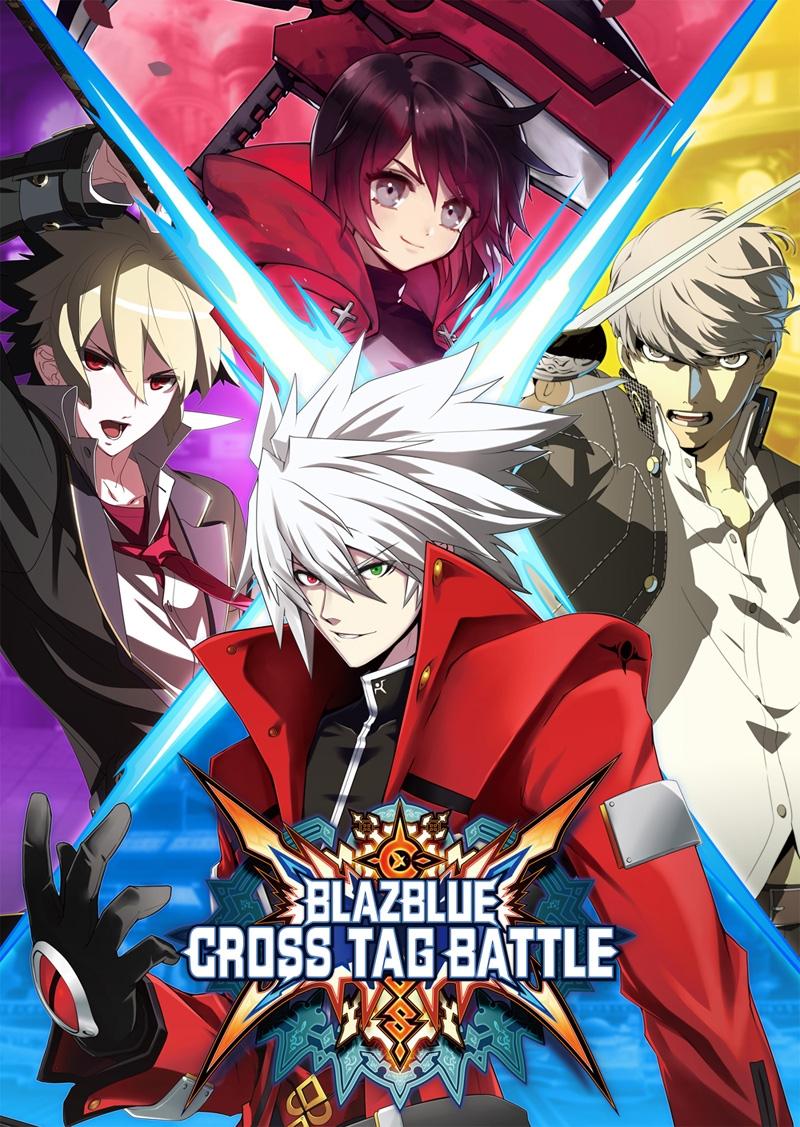 Arte de capa especial de BlazBlue Cross Tag Battle