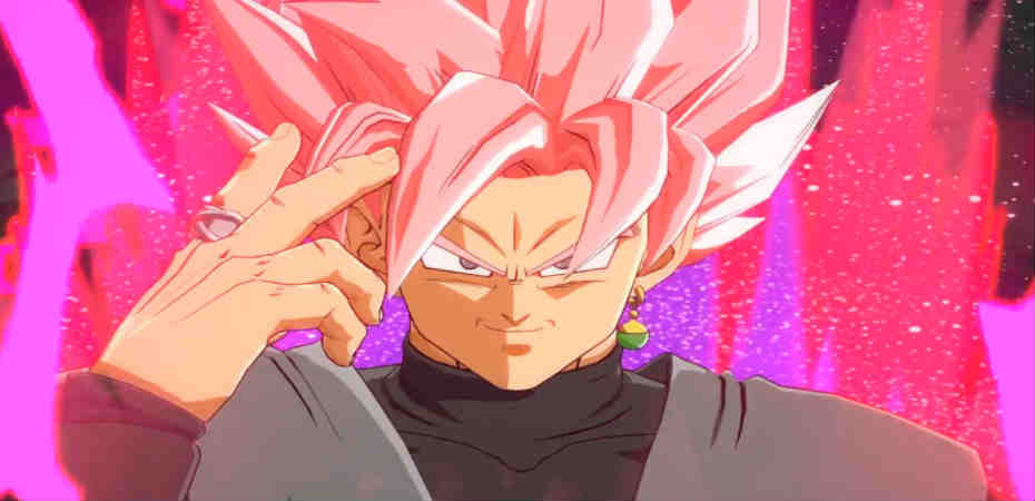 Goku Black em Dragon Ball FighterZ