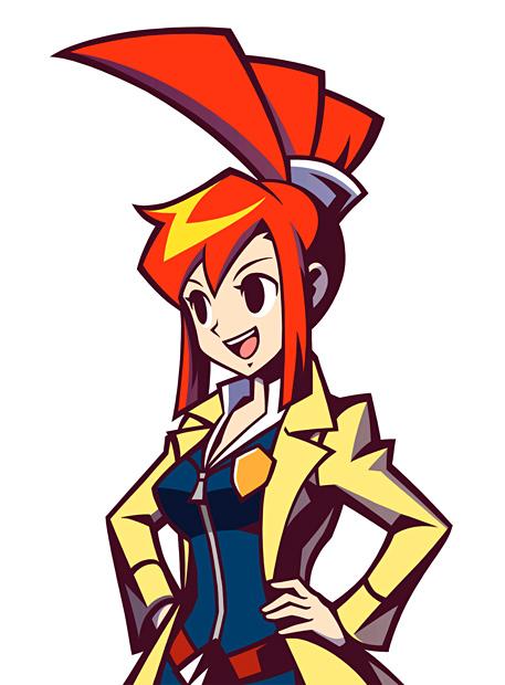Lynne, a jovem detetive de Ghost Trick