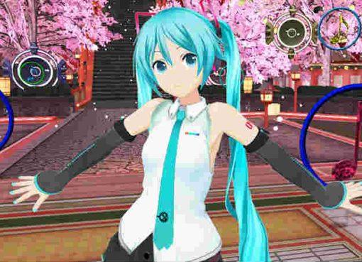 Imagem de Hatsune Miku VR