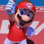 Mario em Mario Tennis Aces