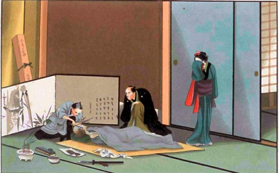 Sudangee, um dos rituais funerários japoneses