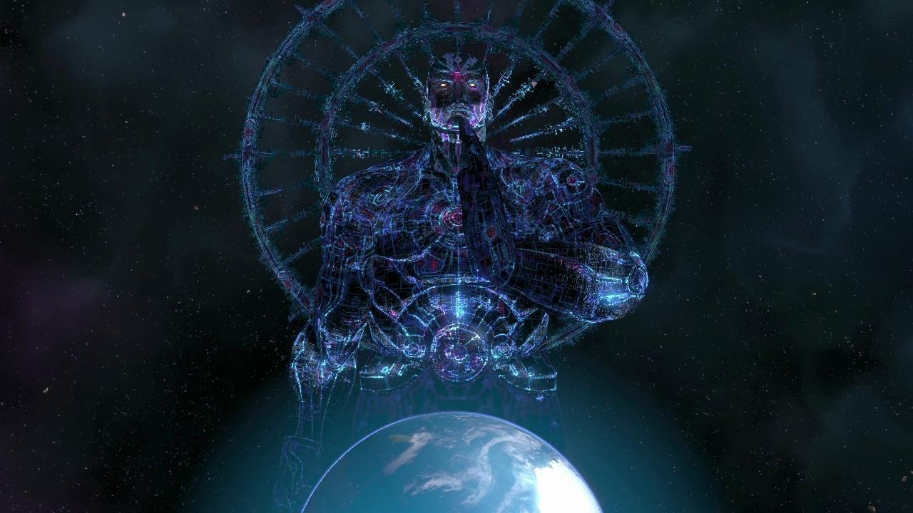 Imagem da fortaleza Karma Frotress de Asura's Wrath