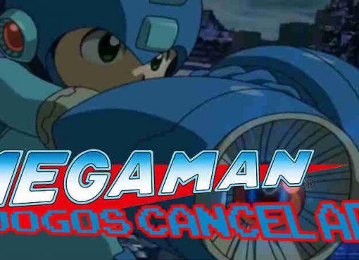Imagem de um dos jogos cancelados da franquia Mega Man