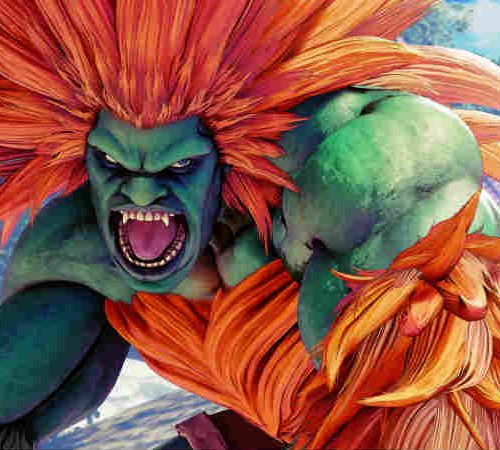 Blanka em Street Fighter: Arcade Edition
