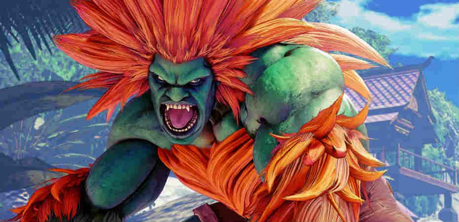 Blanka em Street Fighter: Arcade Edition