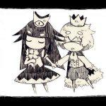 A princesa e o príncipe de Usotsuki Hime to Moumoku Ouji