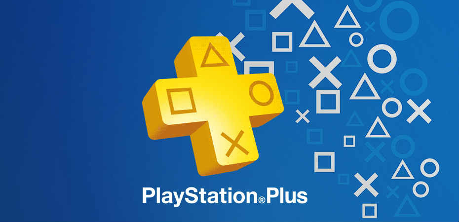 Logotipo da PlayStation Plus.