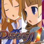 Logo e captura de tela de Disgaea 1 Complete
