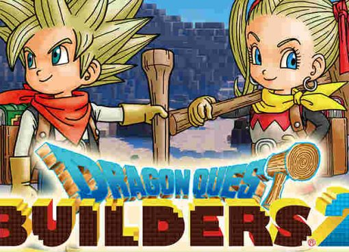Artwork e logo de Dragon Quest Builders 2