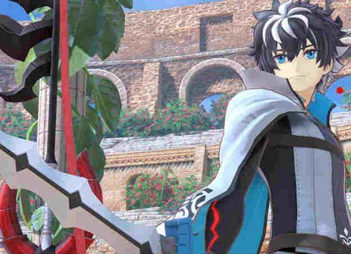 Imagem de um dos personagens principais de Fate/Extella Link