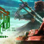 Ilustração e logo de Metal Max Xeno