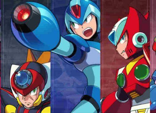 Ilustração de Mega Man X Legacy Collection 1+2