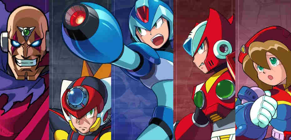 <b>[ATUALIZADO]</b> <i>Mega Man X Legacy Collection 1+2</i> anunciado para PS4, Switch, Xbox One e PC