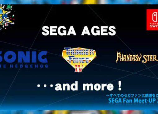 Imagem de anúncio de Sega Ages