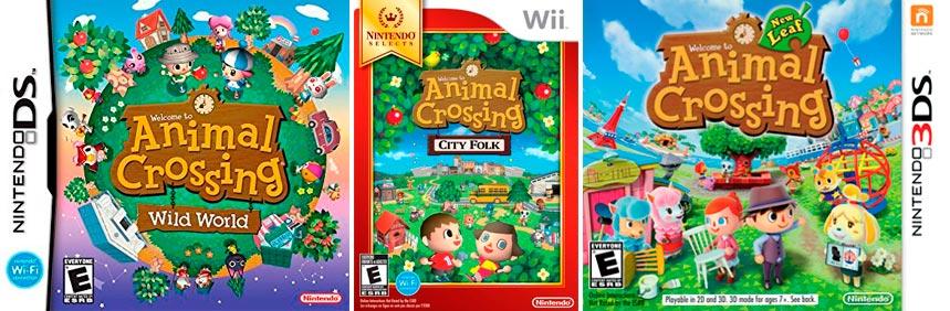 As influências que Animal Crossing de Switch pode absorver de sua série